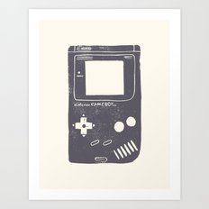 Game Boy Art Print