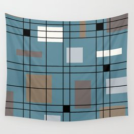 1950's Abstract Art Wall Tapestry