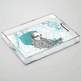 Ahoi Sailor Hauke Acrylic Tray