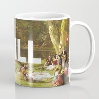 chill Mugs featuring Chill by eARTh