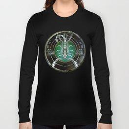 """""""Astrological Mechanism - Scorpio"""" Long Sleeve T-shirt"""