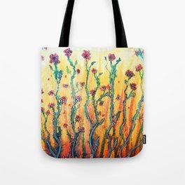 Flower Light Tote Bag