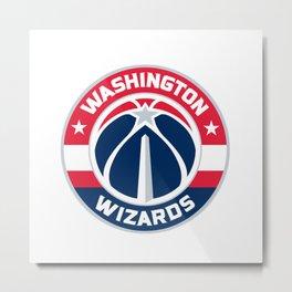 Wizards Logo Metal Print
