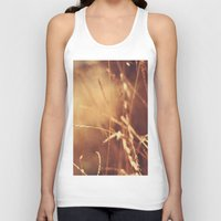 golden Tank Tops featuring Golden by Nina's clicks