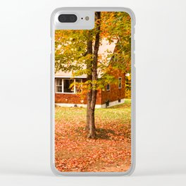 home in vermont Clear iPhone Case