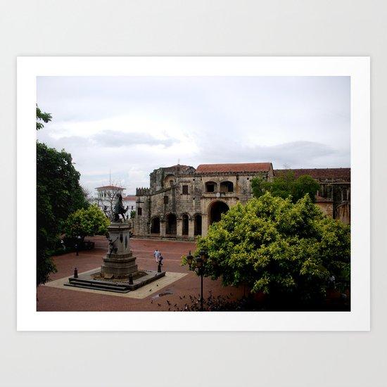 Santo Domingo Art Print