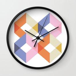 Cubes Wall Clock