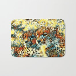 AnimalArt_Cheetah_20171004_by_JAMColorsSpecial Bath Mat