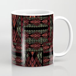 Patchwork seamless snake skin pattern texture Coffee Mug