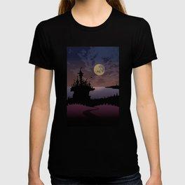 Halloween castle T-shirt