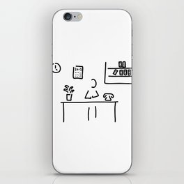 administration office iPhone Skin