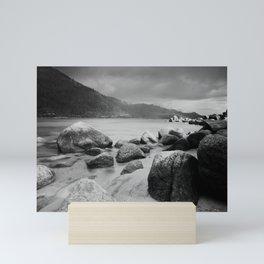 Sand Harbor, Lake Tahoe ... after the storm Mini Art Print