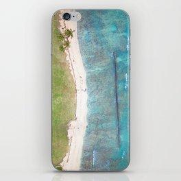 Hawaiian Shores iPhone Skin