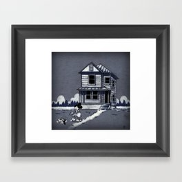 Who left this here? Framed Art Print