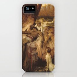 The Lament for Icarus by Herbert James Draper, 1898 iPhone Case