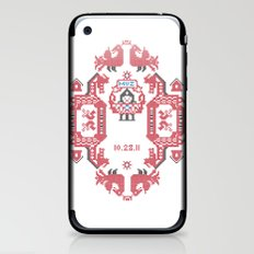 Embroidery  iPhone & iPod Skin