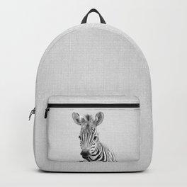 Baby Zebra - Black & White Backpack