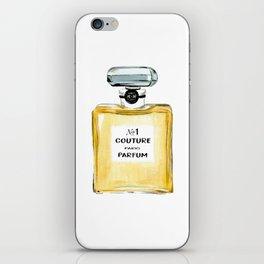 Yellow Parfum iPhone Skin