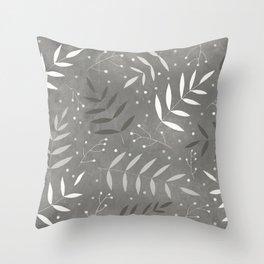Wonderleaves Throw Pillow