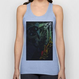 Fishmonsters in Love- Color Unisex Tank Top