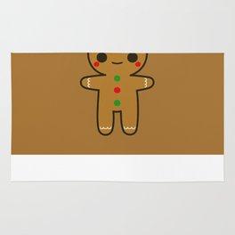 Cute Gingerbread Man Rug