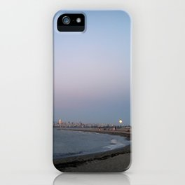 Fire Moon iPhone Case