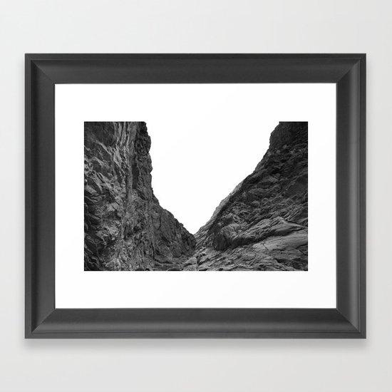 Valley of the Forsaken Framed Art Print