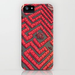 Domino Labyrinth iPhone Case