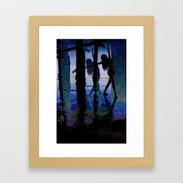 Just One More Step Framed Art Print