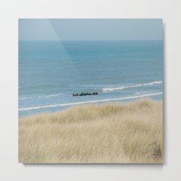 Sea ride Metal Print