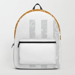 Manual gearbox transmission USA driver gift Backpack