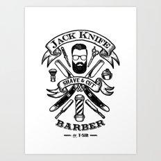 Jack Knife Art Print