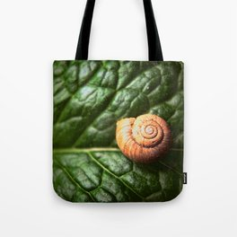 The Little Sleeping Snail Tote Bag