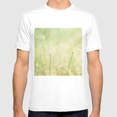 in the field Mens Fitted Tee White MEDIUM