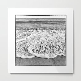 Haiti, Beach on the Caribbean Sea Metal Print