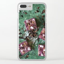 Digging in the dirt Clear iPhone Case