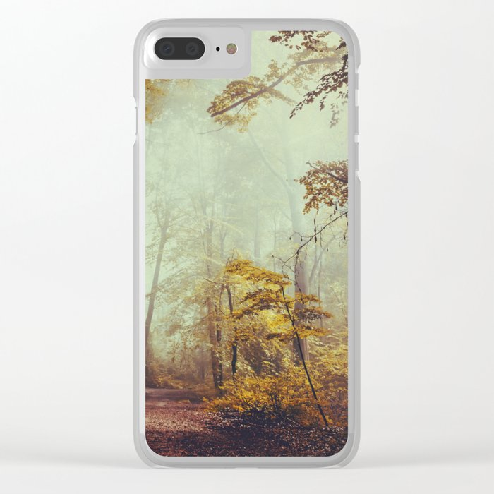 Silent Forest Clear iPhone Case