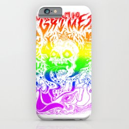 Grimes Visions Inverted Occult T-Shirt  iPhone Case