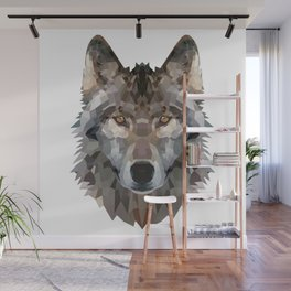 wolf trendy Wall Mural