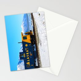 Caboose - Alaska Train Stationery Cards