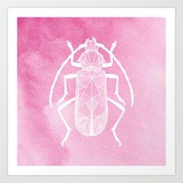 pink full Art Print