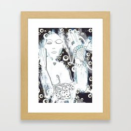 Magic of floral Framed Art Print