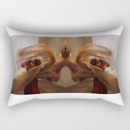 Wind Chimes Spins Rectangular Pillow