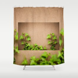 young leaves of hedera helix ivy Shower Curtain