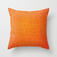 The Dance of the Midge on a Hot Summer Night Throw Pillow