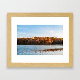 Autumn Trees Framed Art Print