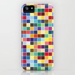 Pantone Color Palette - Pattern iPhone Case
