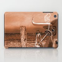 chicago bulls iPad Cases featuring Bulls Eye by Laura Brightwood