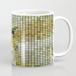 Pale Yellow Poinsettia 1 Mosaic Coffee Mug