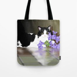 Cherokee Kitty Tote Bag